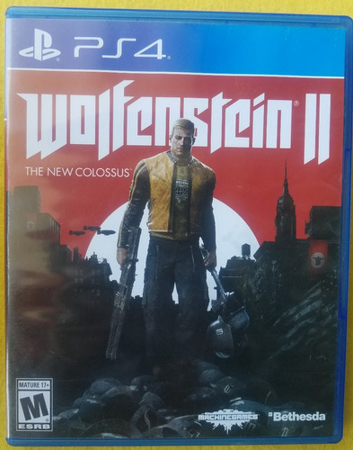 wolfenstein 2 the new colossus ps4 infinity games