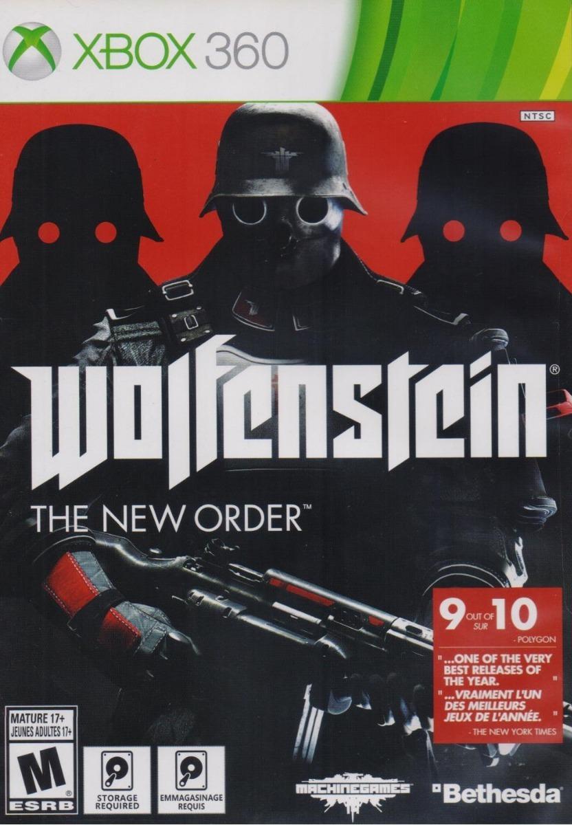 Wolfenstein The New Order Juego Xbox 360 Nuevo En Karzov 399 00