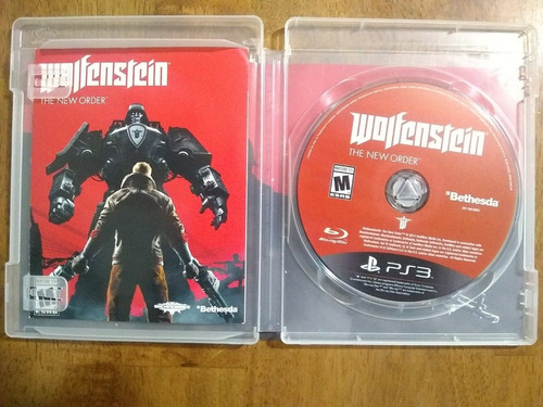 wolfenstein: the new order ps3*