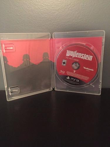 wolfenstein the new order ps3 envio gratis