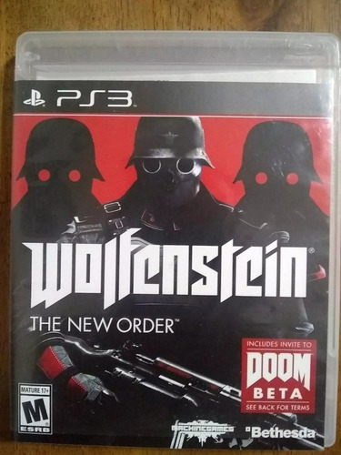 wolfenstein: the new order ps3* play magic