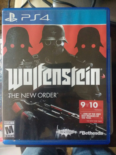 wolfenstein the new order ps4 -- the unit games