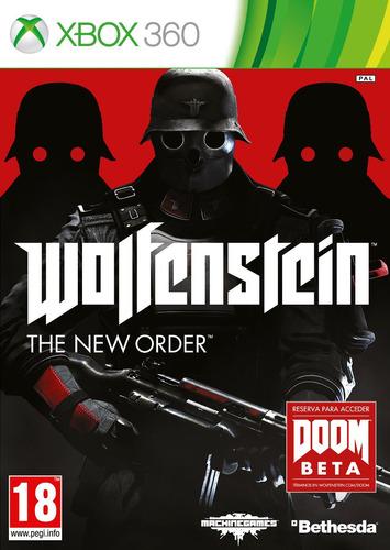 wolfenstein: the new order xbox 360 nuevo, sellado ntsc