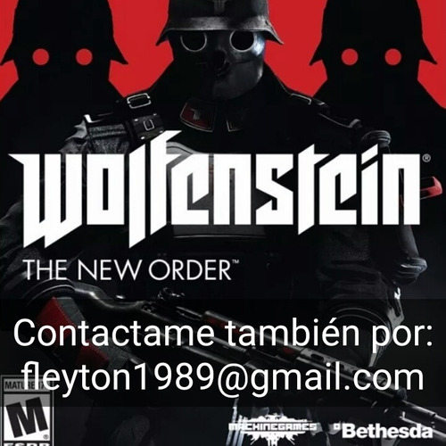 wolfestein the new order juego ps3 digital paypal bitcoin