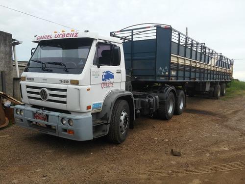 wolkswagen 17.310 tractor 6x2 remolques/ganaderos/forestales