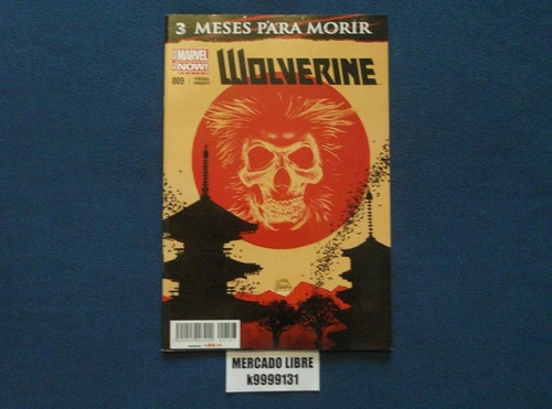 wolverine #009 variante 3 meses para morir marvel televisa
