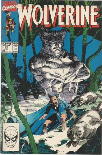 wolverine 25 - marvel comics - bonellihq cx422 h18