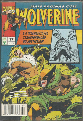 wolverine 37 - abril - bonellihq cx82 g19