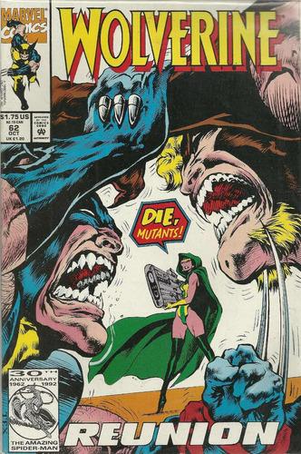 wolverine 62 - marvel comics - bonellihq cx413 h18