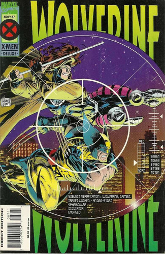 wolverine 87 - marvel comics - bonellihq cx413 h18