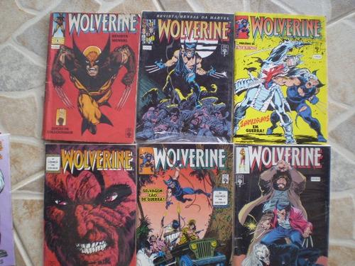 wolverine! editora abril 1992-99! vários! r$ 8,00 cada!
