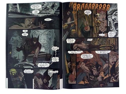 wolverine feitiços da terra de peter david e andy kubert