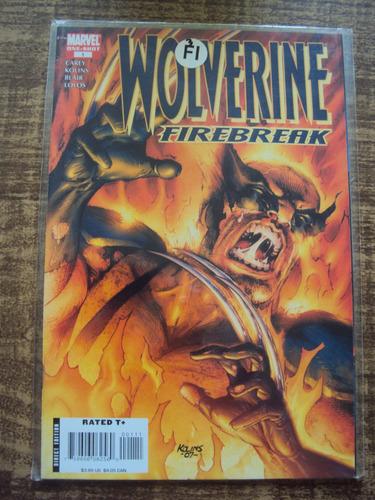 wolverine - firebreak - importada - one-shot