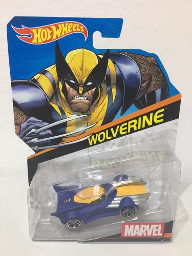 wolverine marvel hot wheels avengers