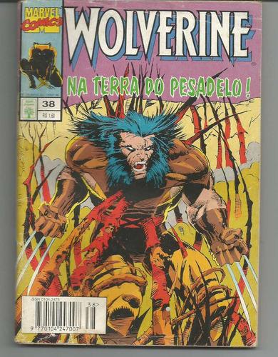 wolverine nº 38 - abril de 1995 - frete grátis