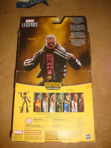 wolverine old man logan marvel legends series warlock