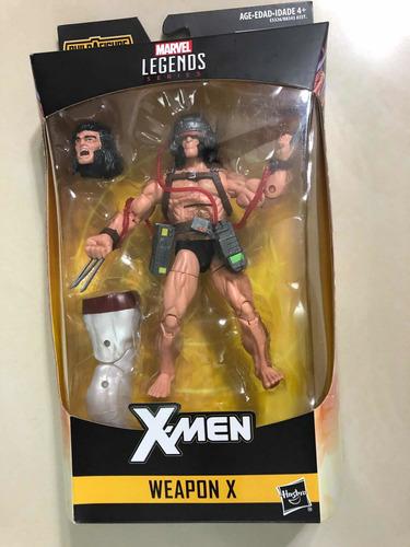 wolverine weapon x x-men marvel legends serie caliban