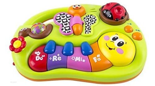 wolvol toddler toy piano keyboard educational infant toy cen