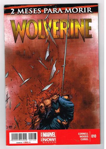 wolwerine # 10 - marvel now! - editorial televisa