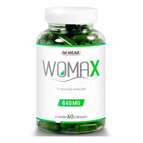 Womax 60 Cápsulas 1 Frasco Vicaz Promoção Garantia 30 Dias