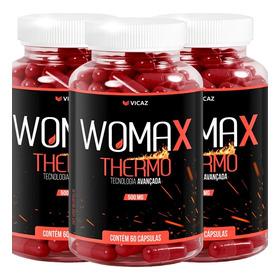 Womax Thermo 60 Cápsulas 3 Frascos Vicaz Original Garantia