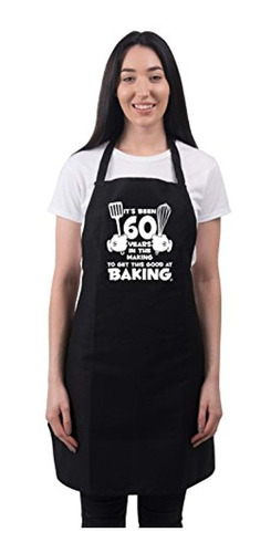 women  s 60th birthday apron it  s been 60