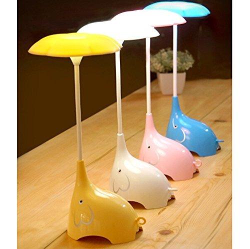 womhope cute elephant iluminación para niños lámpara de esc