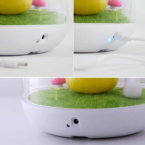 womhope luces nocturnas infantiles diseño de mano sensor