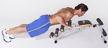 wonder core 6 en1 abdomen,piernas y gluteos perfectos,bandas
