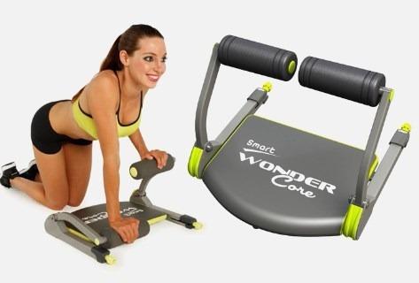 wonder core abdomen fitness cardio ejercicio piernas torso