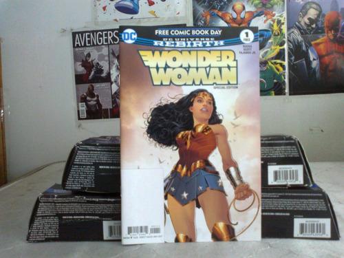 wonder woman #1 rebirth free comic book day