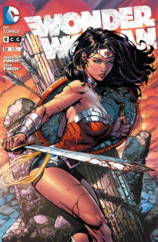 wonder woman 10 serie regular ecc españa castellano color