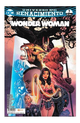 wonder woman #7 - universo dc renacimiento - ecc ediciones