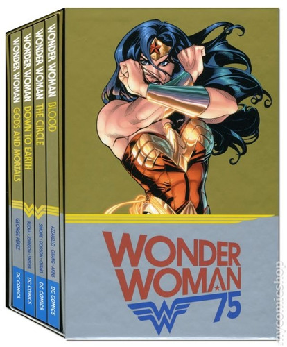 wonder woman 75 anniversary box set tpb inglés