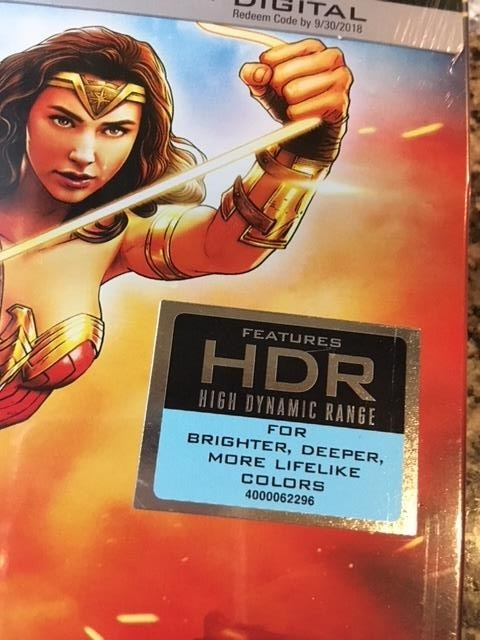 Wonder Woman Blu Ray 4k 2d Steelbook Edition