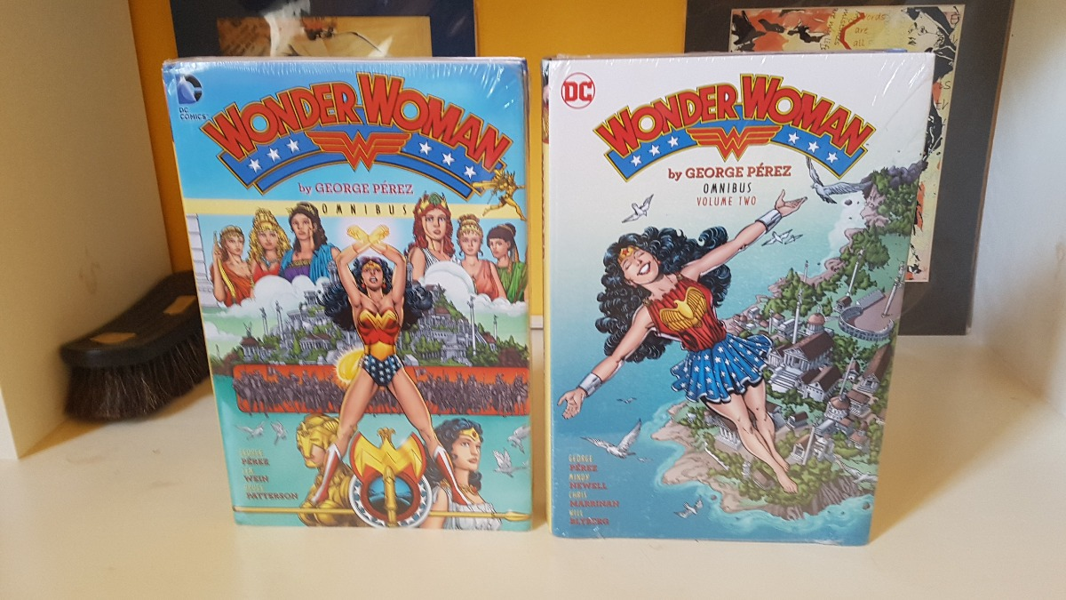 1 Wonder Woman by George Perez Omnibus Vol