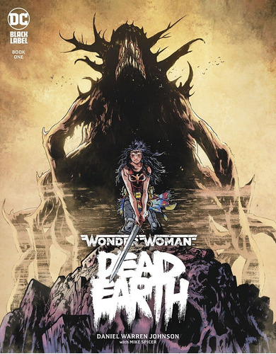 wonder woman dead earth book 1 (2019) dc black label
