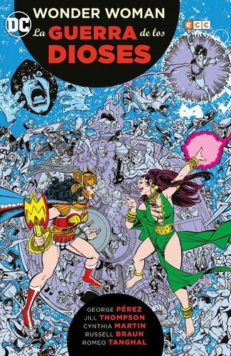 wonder woman guerra de los dioses dc ecc comics robot negro