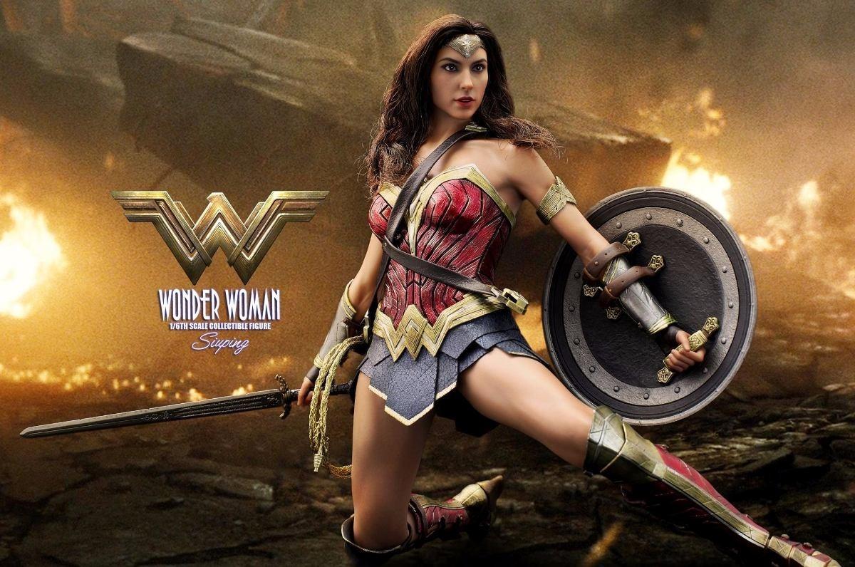 Wonder Woman Hot Toys Mulher Maravilha Pronta Entrega R 139900