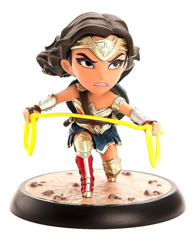 wonder woman justice league  q-fig quantum - robot negro