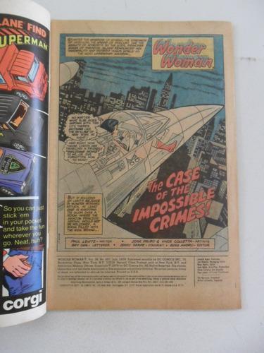 wonder woman nºs 255 2 257! em inglês! dc 1979!
