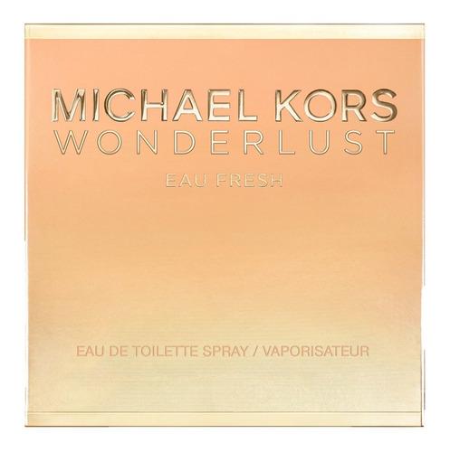 wonderlust eau fresh michael kors edt -perfume feminino 30ml
