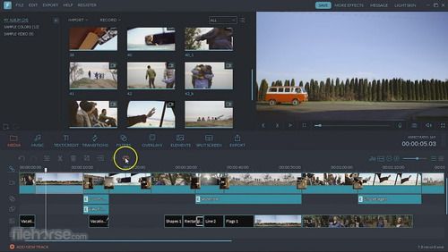 wondershare filmora video editor 8.7.5 macos mojave 2018