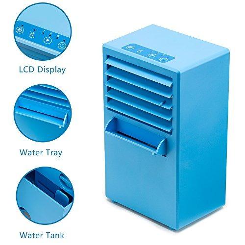 wonyered mini aire acondicionado ventilador po