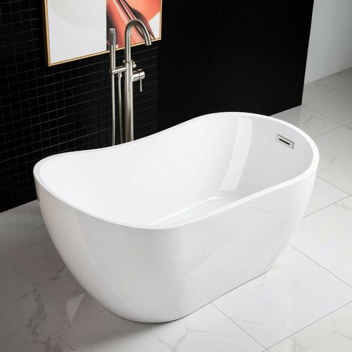 woodbridge b-0006 bañera independiente de 54 pulgadas