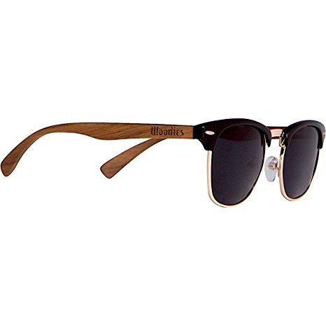 94f635a8a Woodies Madera De Nogal Clubmaster Gafas De Sol - $ 1,385.00 en ...
