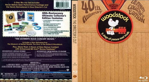 woodstock 3 days of peace and music bluray 40th anniversary