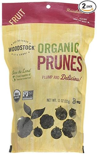 woodstock ciruelas, orgánicos, california sin hueso, de 11 o