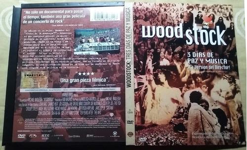 woodstock - director´s cut  225min (40 min extra) dvd doble
