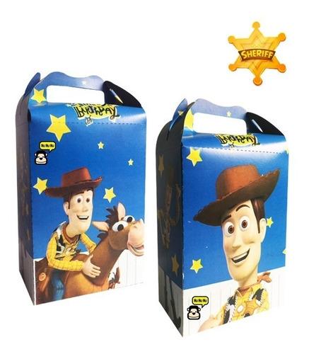 woody caja dulcera 10 piezas dulceros bolos fiesta toy story